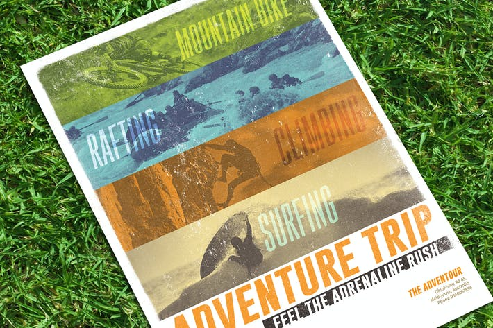Thumbnail for Adventure Trip Flyer