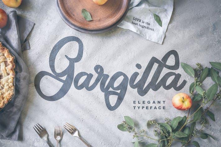 Thumbnail for Gargilla   Elegant Typeface Script Font