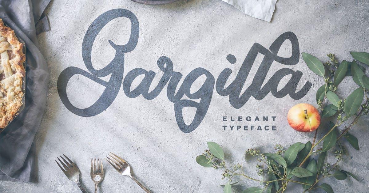 Download Gargilla | Elegant Typeface Script Font by Vunira