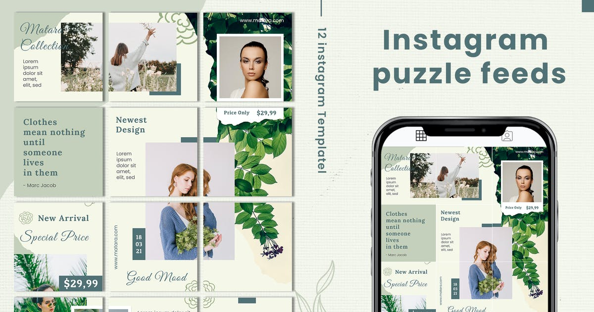 Download Matara Collection Instagram Puzzle by Macademia