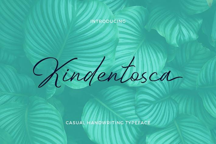 Thumbnail for Kindentosca - Casual Handwriting
