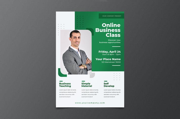 Thumbnail for Class Online Flyer