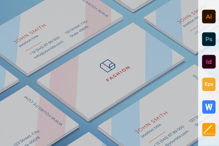 Cover Image For Fashion Shop Business Card