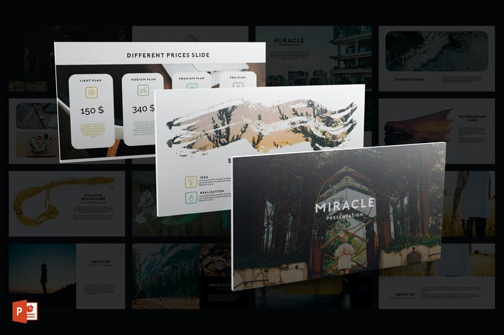 Thumbnail for Miracle PowerPoint Template
