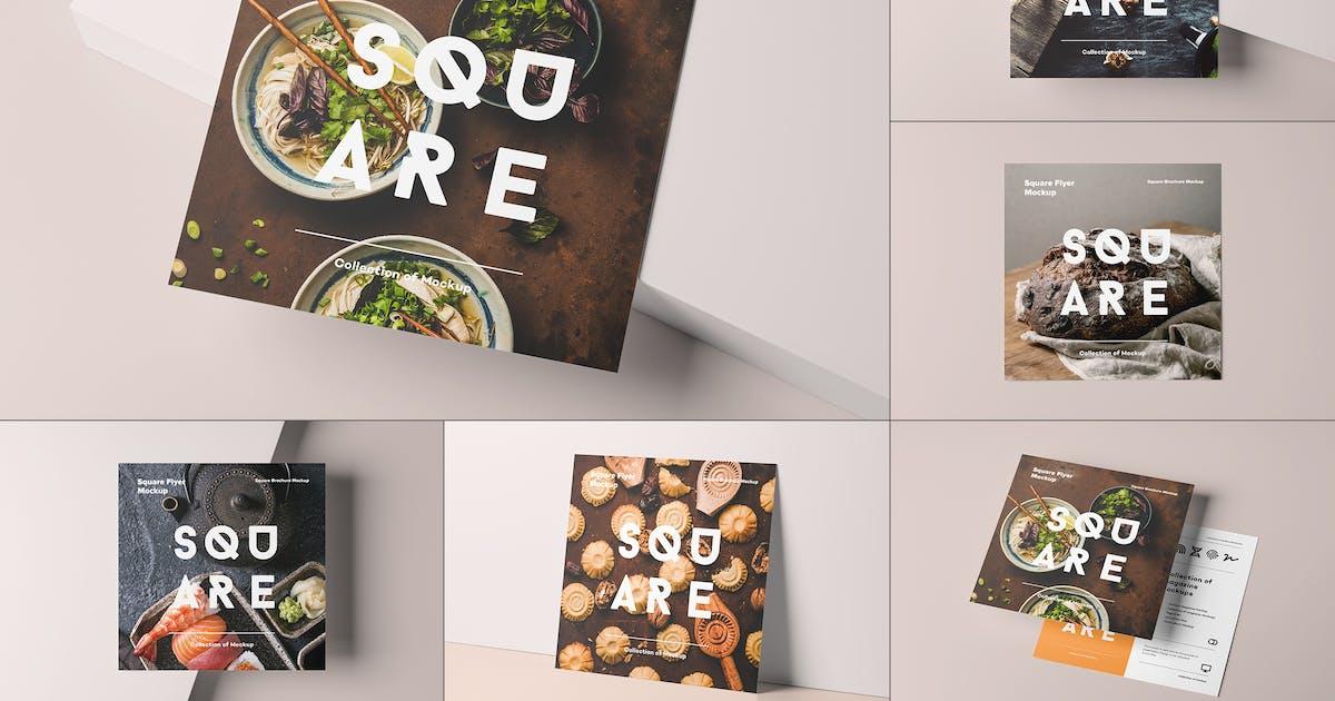 Download Square Flyer Mock-up by yogurt86