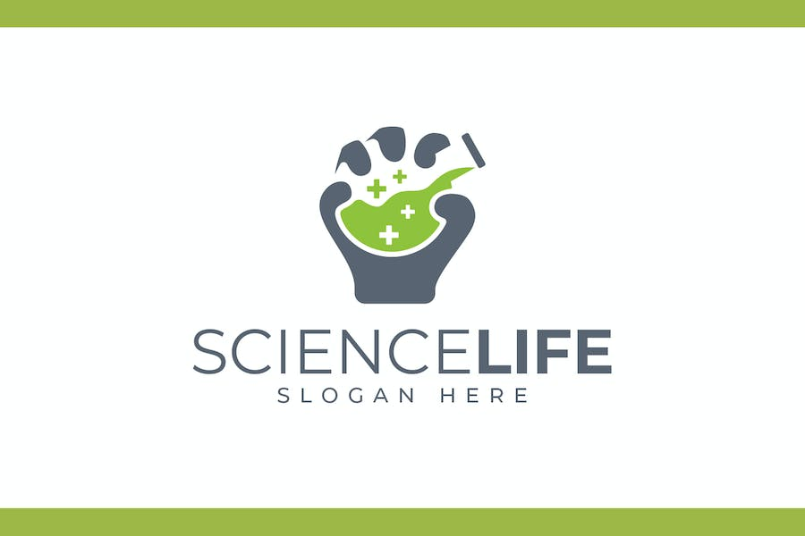Science Life - Health and Science Logo