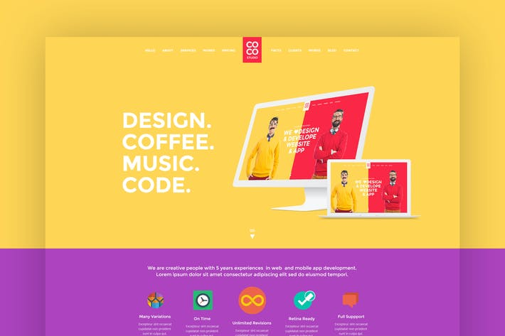 Thumbnail for Creative PSD Template