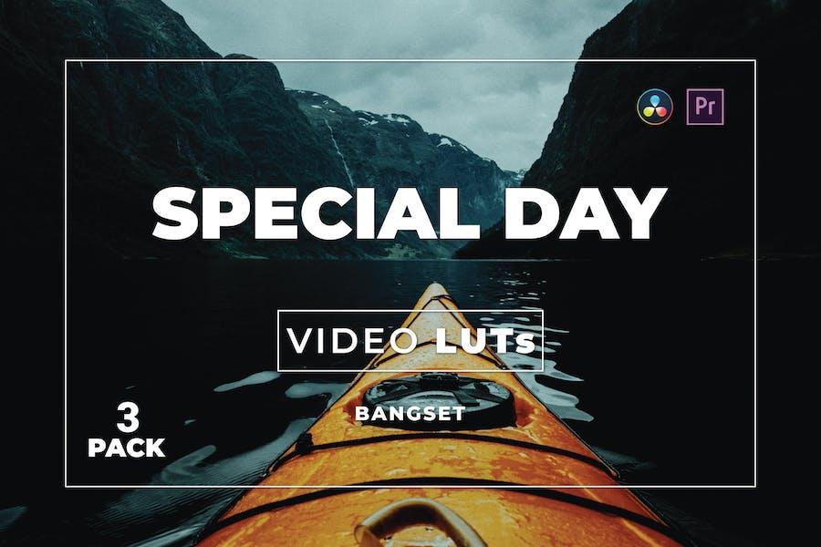 Специальный дневной набор для бангсета 3 видео LUTs