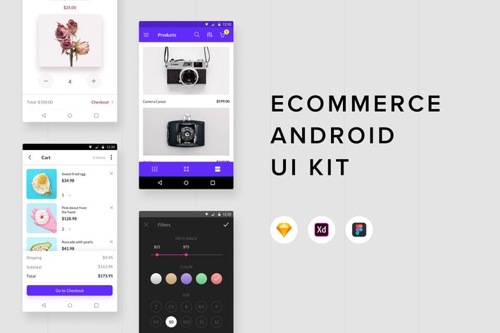 Thumbnail for Ecommerce Android UI Kit