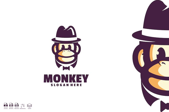 Monkey Gentleman Logo
