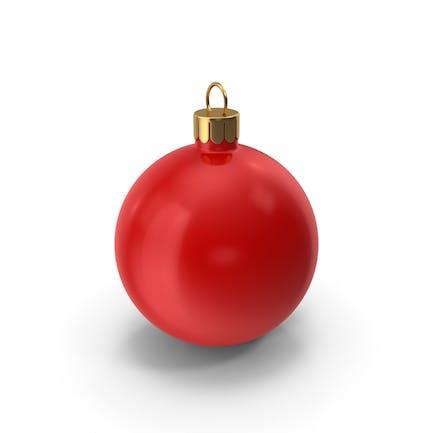 Круглый Рождественский орнамент