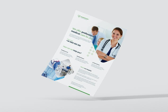 Cover Image For Flyer – Hospital Health