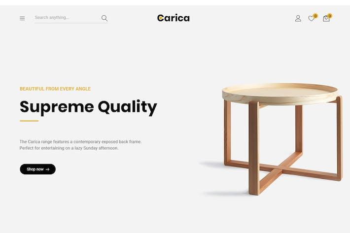Thumbnail for Carica - Furniture Handmade WooCommerce Theme