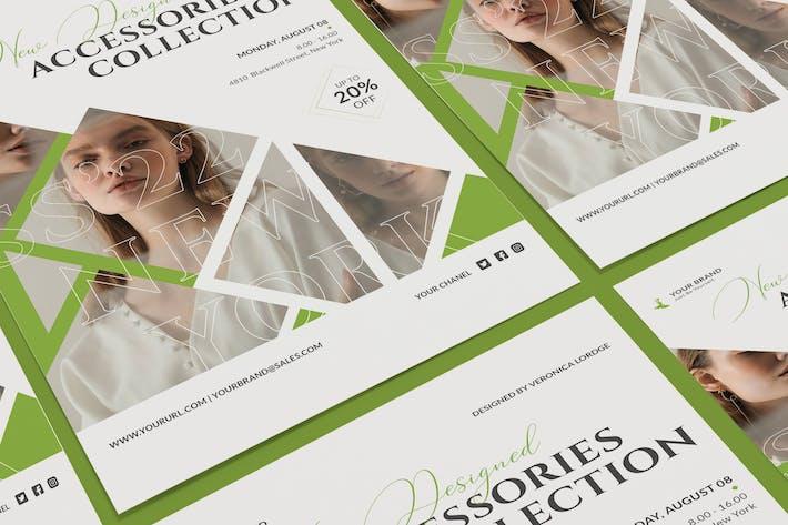 Thumbnail for Poster de vente de mode Modèle PSD