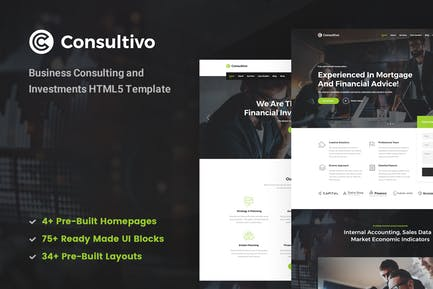Consultivo Consulting & Investments HTML5 Template