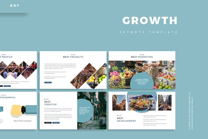 Thumbnail for Growth - Keynote Template
