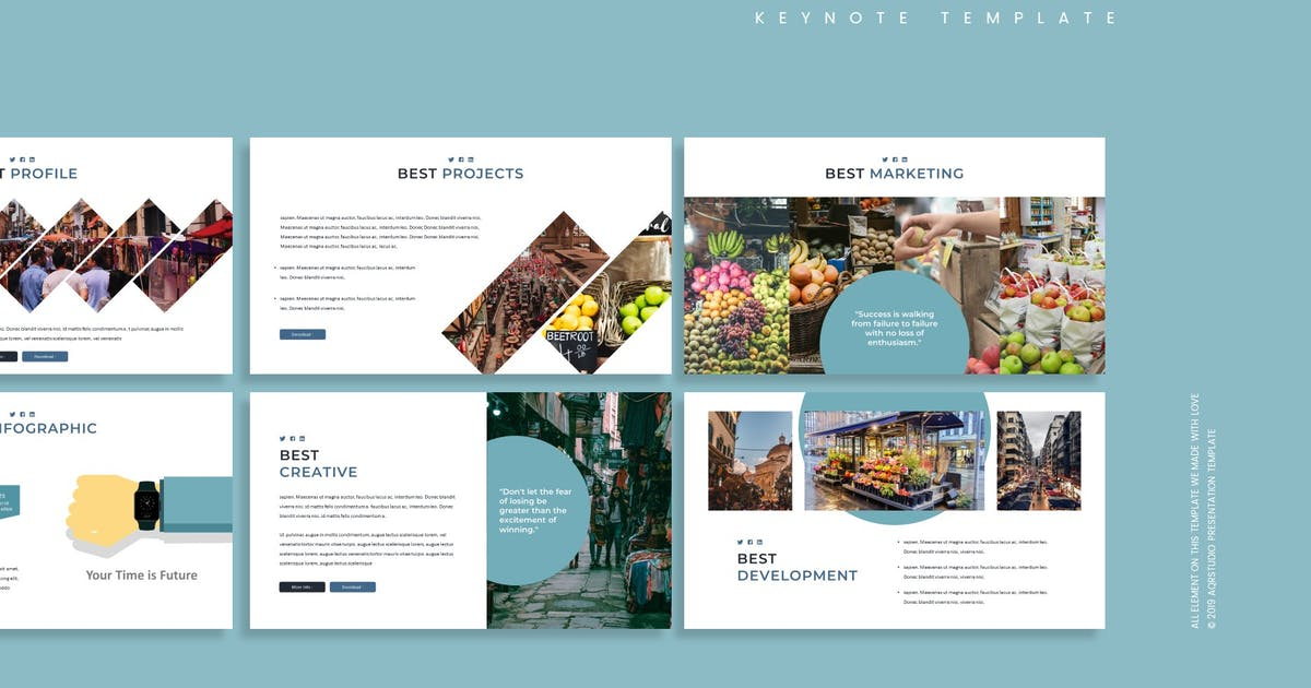 Download Growth - Keynote Template by aqrstudio