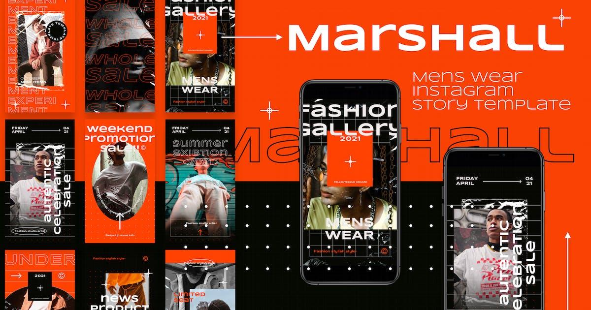Download Mens Wear Fashion Instagram Story Template by deTheme