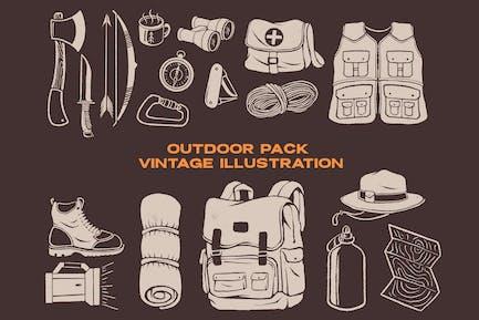Pack al aire libre