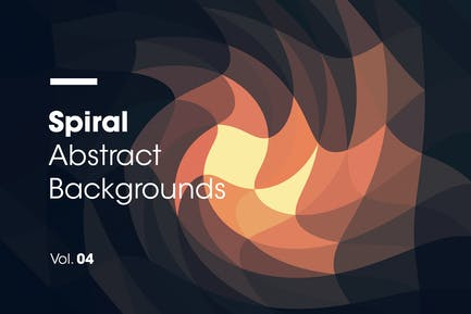 Spiral | Abstract Backgrounds | Vol. 04