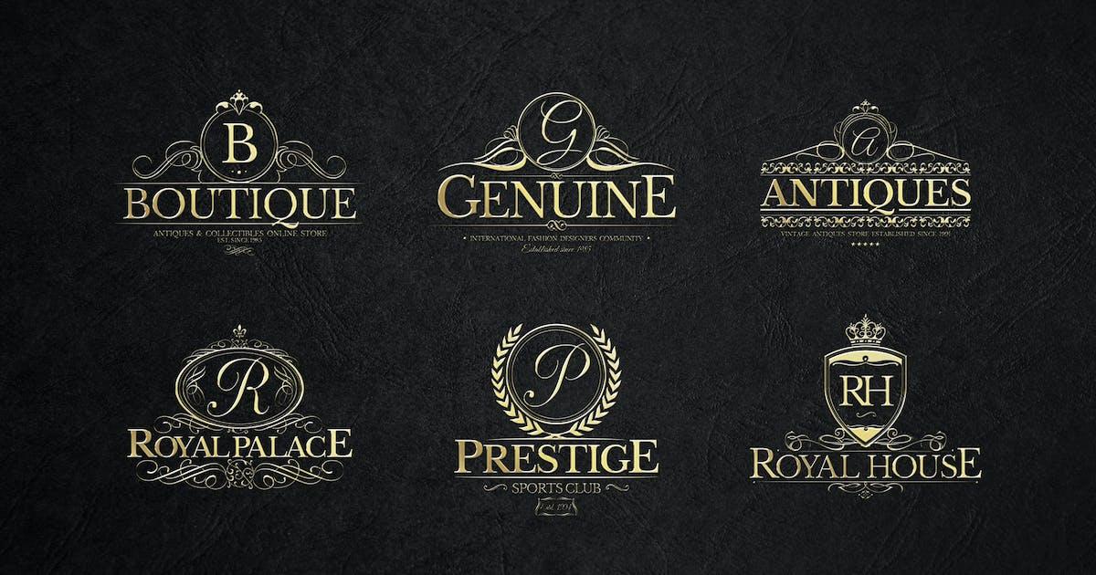Download Heraldic Crest Logos Set 1 by Zeppelin_Graphics