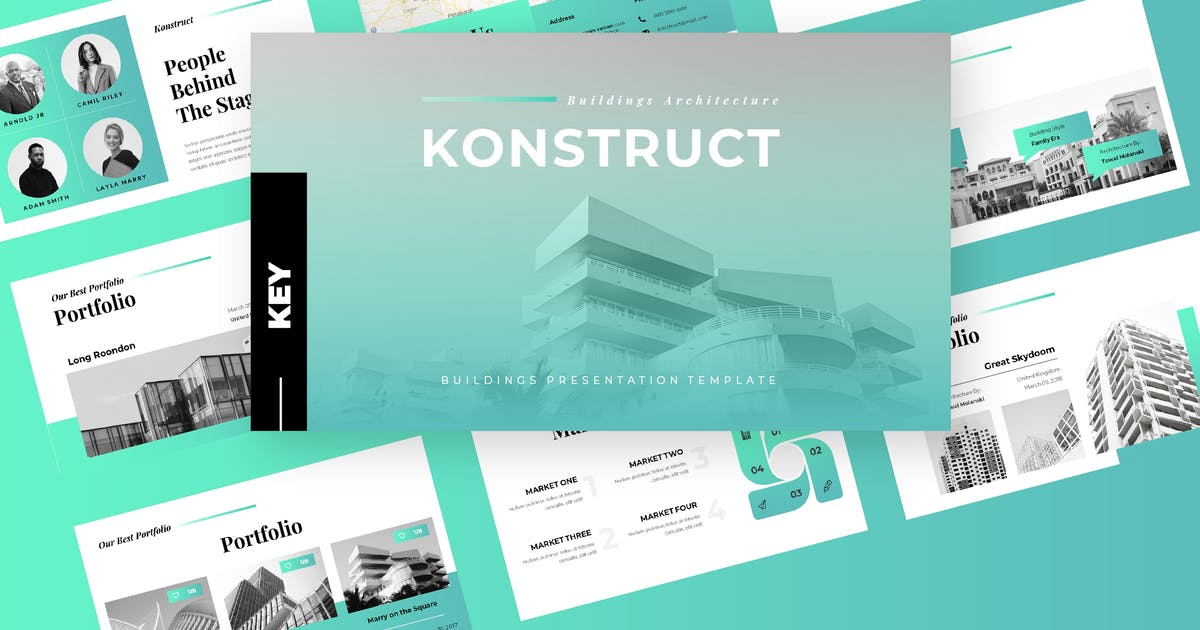 Download Konstruct - Architecture Keynote Presentation by TMint