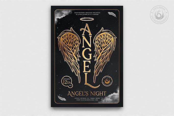 Thumbnail for Plantilla de Folleto Party de ángeles V3