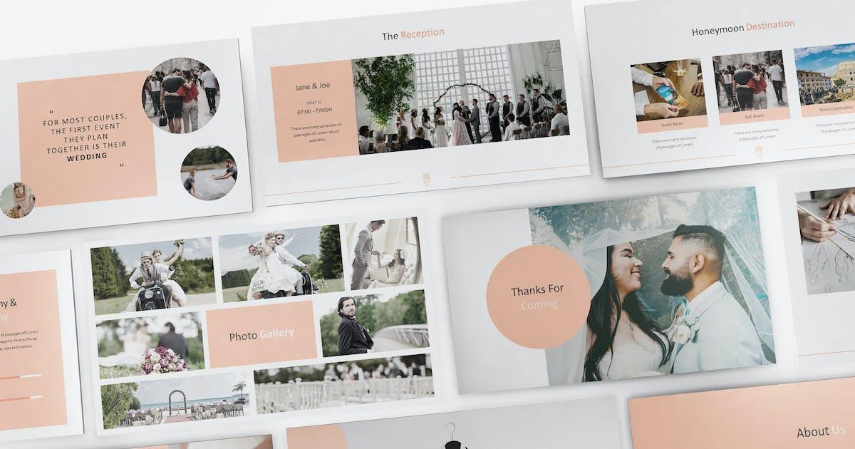 Download Wedding Powerpoint Presentation Template by Formatika