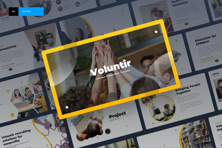 Voluntir - Volunteer Keynote Template