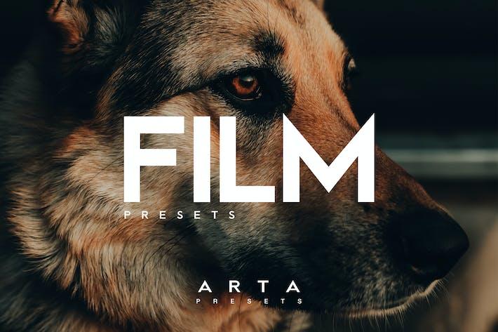 Пресеты фильмов ARTA для мобильных и настольных ПК