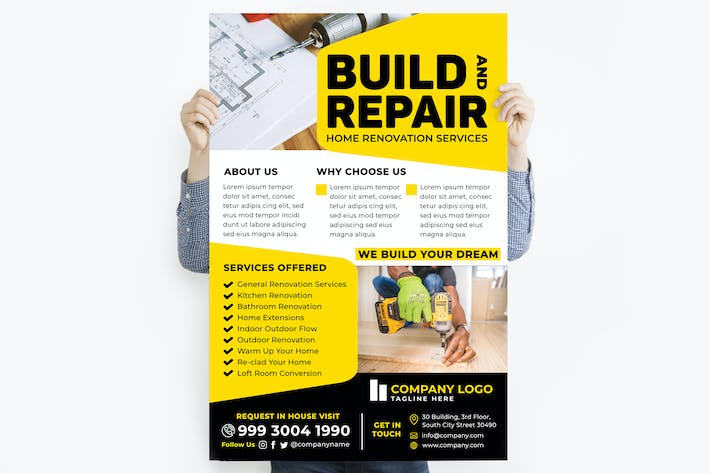 Build & Repair Home Poster