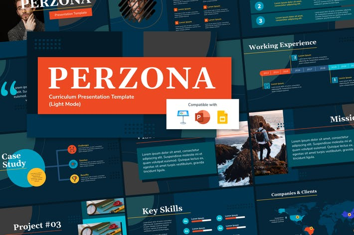 Thumbnail for PERZONA (DARK) - Curriculum Vitae Presentation