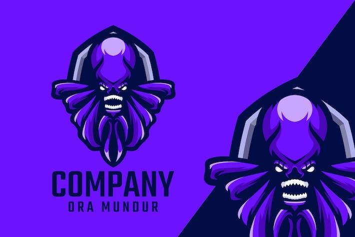 Thumbnail for Octopus Logo Mascot