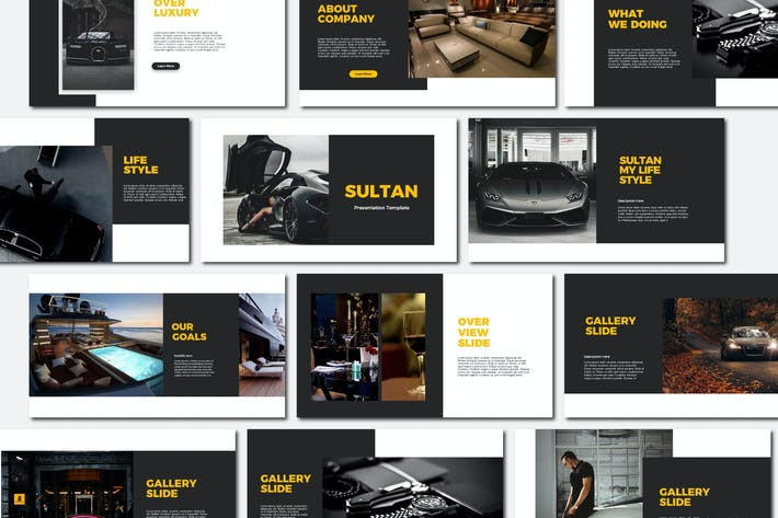 Thumbnail for Sultan - Keynote Templates