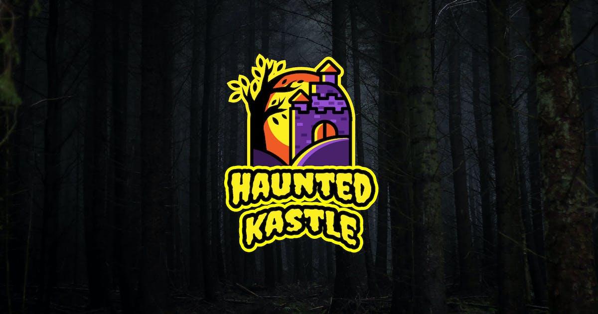 Download haunted castle - Mascot & Esport Logo by aqrstudio