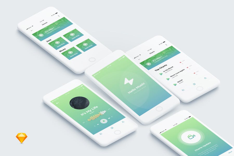 Beat - Music Mobile App Ui Kit