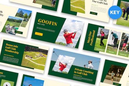 Goofin - Golf Club Keynote