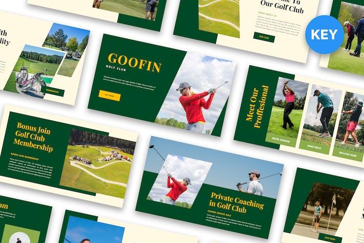 Goofin - Keynote гольф-клуба