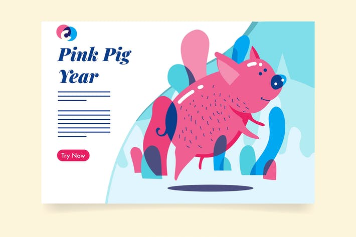Thumbnail for Pink Pig Year