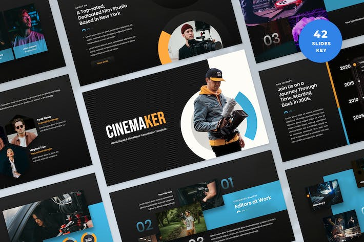 Film & Video Production Keynote Template