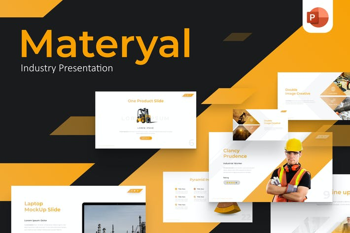 Materyal Industry Powerpoint Template