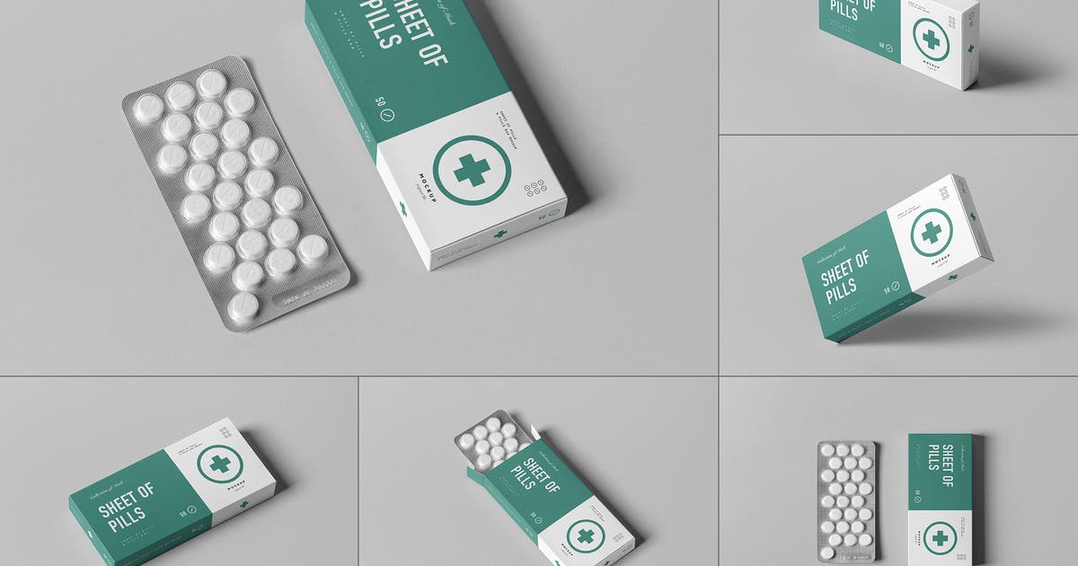 Download Pills Box Mock-up by yogurt86