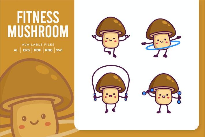 Fitness Mushroom