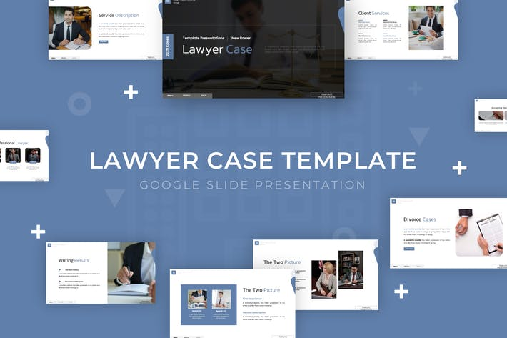 Thumbnail for Lawyer Case - Google Slide Template