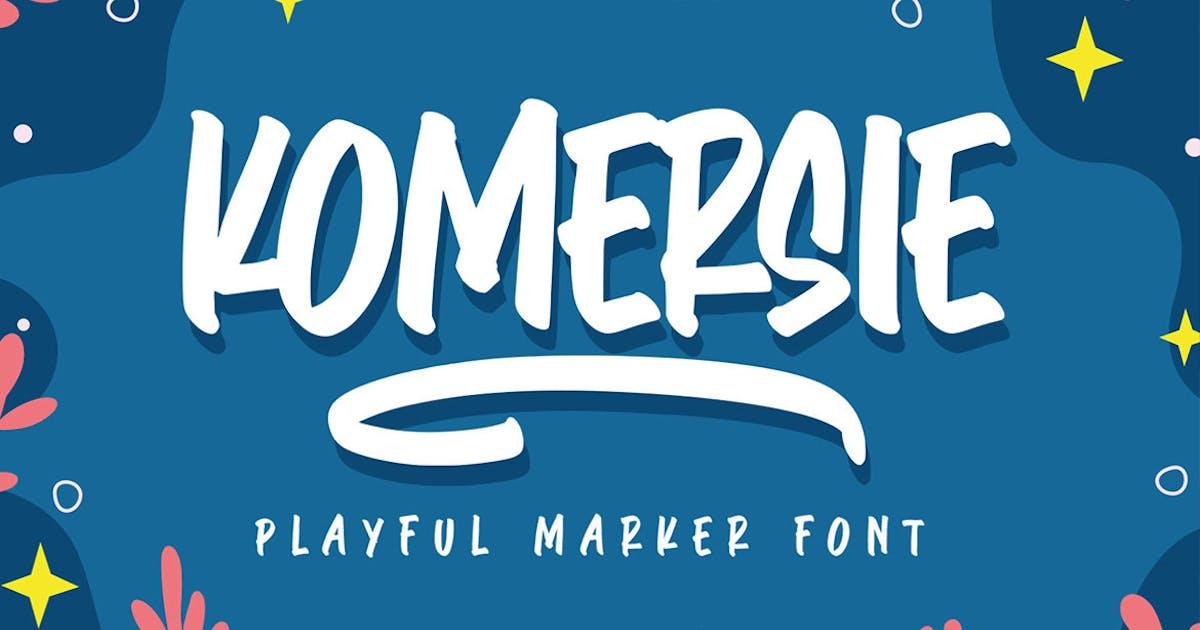 Download Komersie - Playful Marker by Ramzehhh