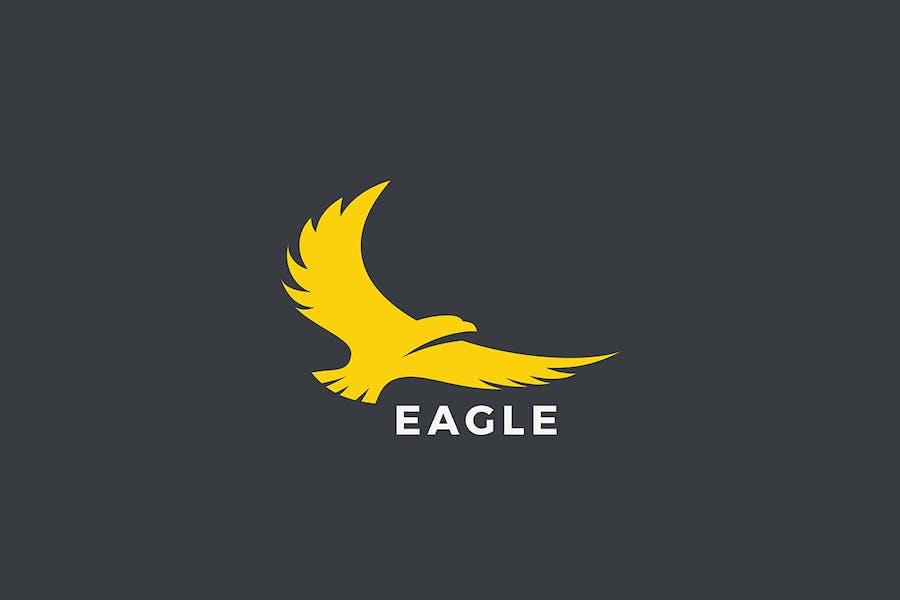 Eagle Flying Logo design
