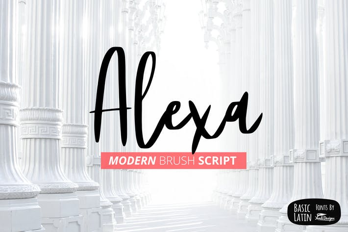 Thumbnail for Alexa Modern Brush Script