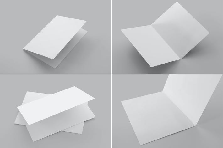 Cover Image For Invitation & Greeting Card Mockups