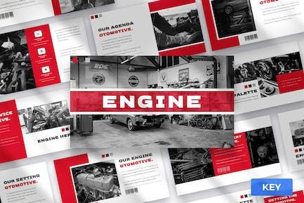 Engine - Keynote Presentation Template