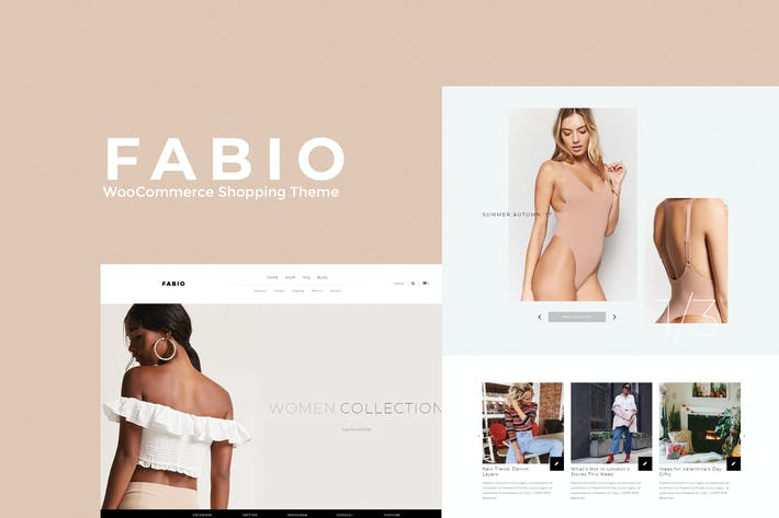 Fabio WooCommerce Shopping Thema
